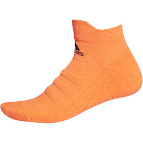adidas Alphaskin Ankle Lightweight Socks Herre solar orange/black